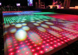 100 pixel LED vloer