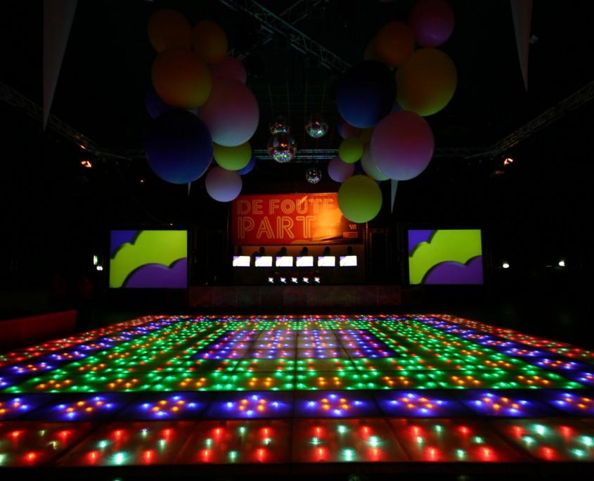 Low budget Dans vloeren LED