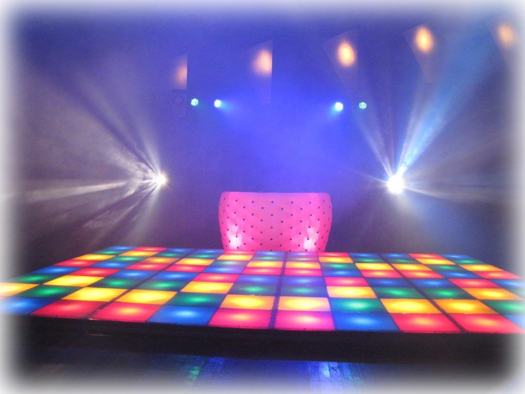 Verlichte dansvloer huren? Wij hebben wat u zoekt!